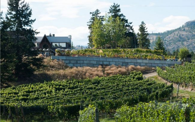 Visit Sumac Ridge Estate Winery Summerland British Columbia
